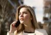 telefon i kobieta